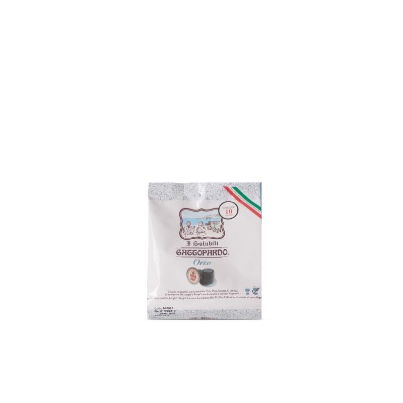 Nespresso Gattopardo Orzo Capsule compatibili macchina Nespresso