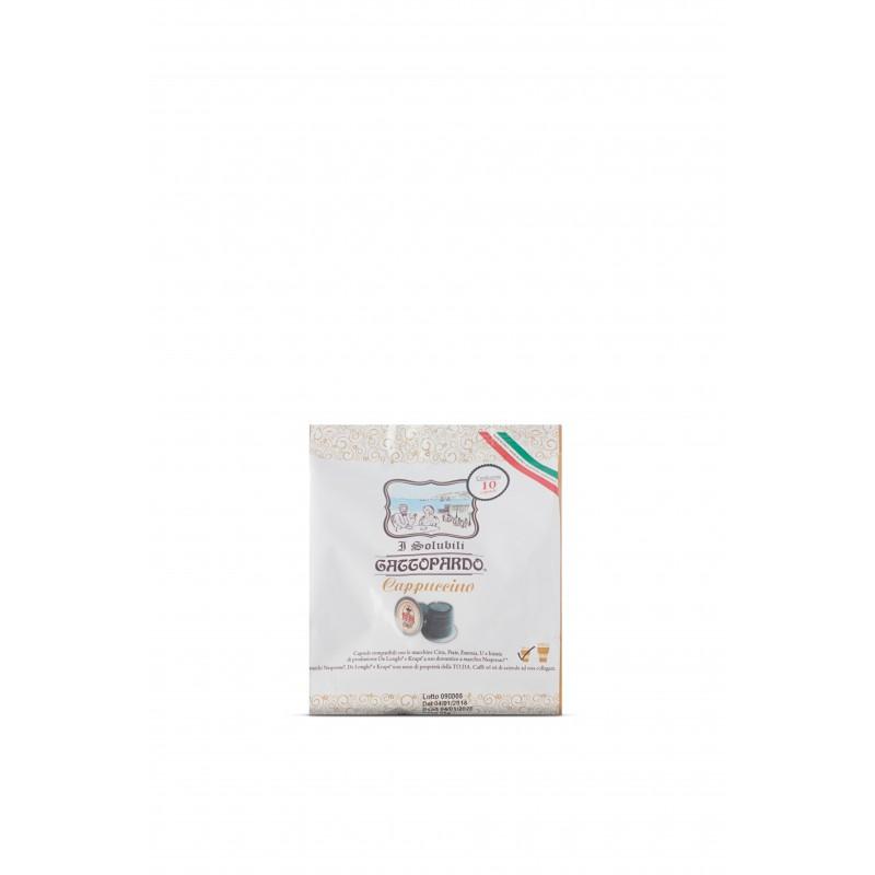 Capsula Gattopardo NSP Cappuccino Capsule compatibili macchina Nespresso