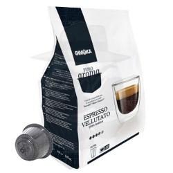 Capsule Gimoka Espresso Vellutato 16 PZ COMPATIBILITA'