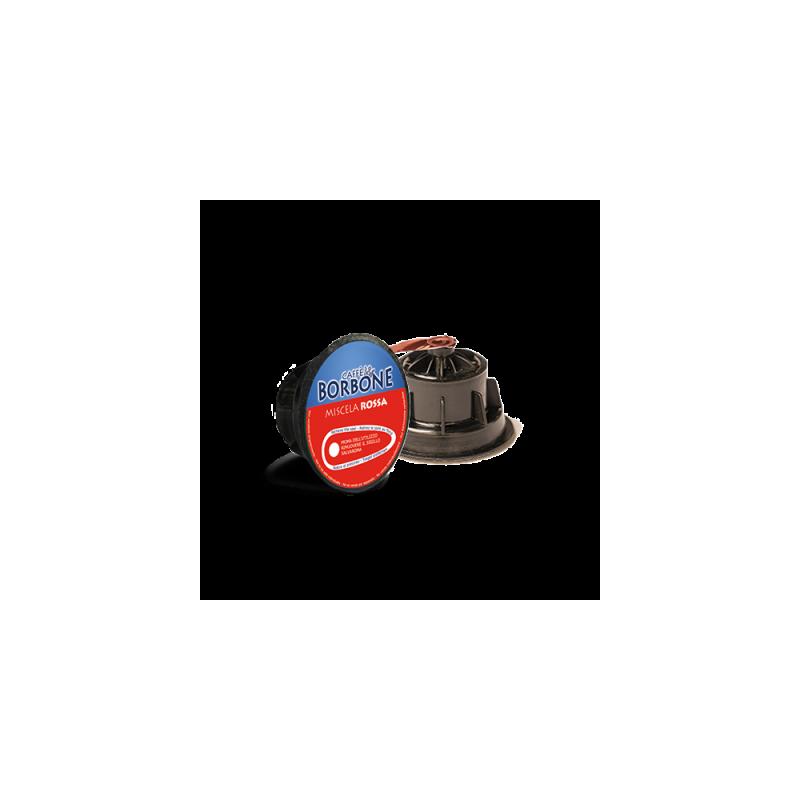 Caffè Borbone ROSSA 6X15 - compatibile Nescafé Dolce Gusto Capsule compatibili Dolce Gusto