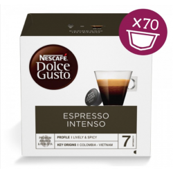 Capsule Nescafé Dolce Gusto Espresso Intenso 70 PZ  capsule dolce gusto