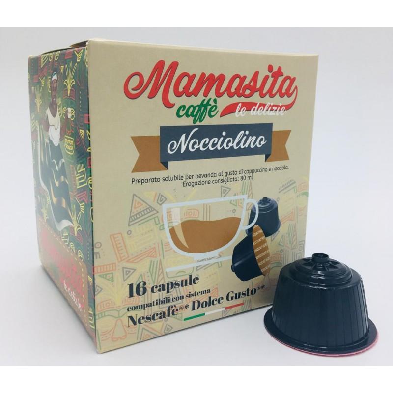 Nocciolino Mamasita - compatibile Nescafé Dolce Gusto Capsule compatibili Dolce Gusto