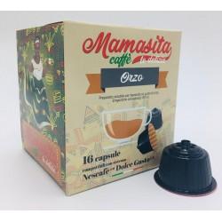 Mamasita Caffè Dgu ORZO 16 pz CAPSULE COMPATIBILI DOLCE GUSTO