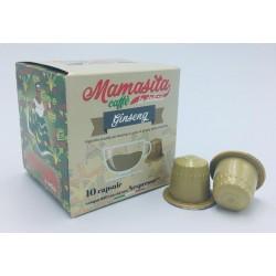 Mamasita Caffè Nsp GINSENG AMARO 10 pz MAMASITA CAFFÈ