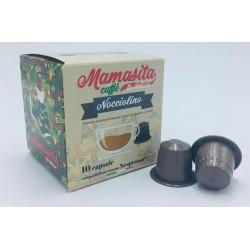 Caps Nespresso NOCCIOLINO MAMASITA CAFFÈ