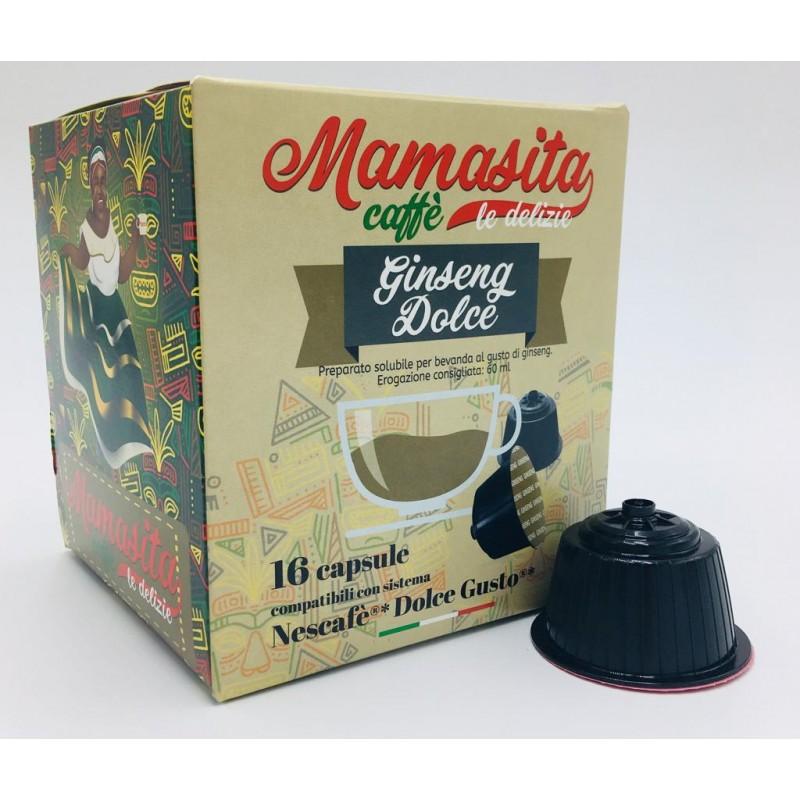 Ginseng Dolce Mamasita - compatibile Nescafé Dolce Gusto Capsule compatibili Dolce Gusto