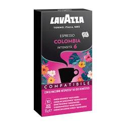 Nespresso Lavazza Colombia 10 pezzi Capsule compatibili Macchina Nespresso