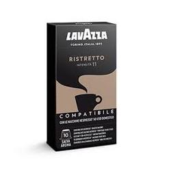 Nespresso Lavazza ristretto 10 pezzi Capsule compatibili Macchina Nespresso