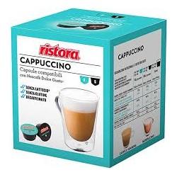 Capsule Compatibili Ristora Cappuccino dek senza lattosio 10 PZ Capsule compatibili Dolce Gusto