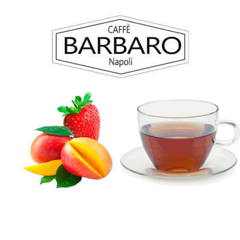 NSP Tè in foglia Fragola e Mango Capsule compatibili Nespresso