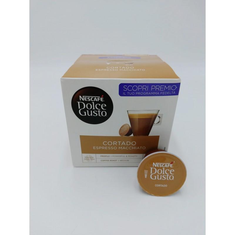 Cortado Espresso Macchiato Nescafé Dolce Gusto  capsule dolce gusto