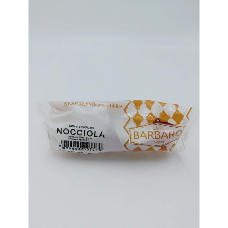 Nespresso Barbaro Nocciola Capsule compatibili macchina Nespresso