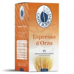 Cialda in carta filtro Caffè Borbone Orzo Espresso 18 PZ Cialde carta 44 mm E.s.e.