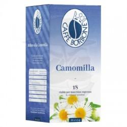 Cialda in carta filtro Caffè Borbone Camomilla 18 PZ Cialde carta 44 mm E.s.e.