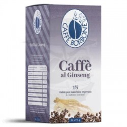 Cialda in carta filtro Caffè Borbone Caffè al Ginseng 18 PZ Cialde carta 44 mm E.s.e.