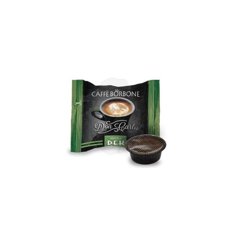 Caffè Borbone Don Carlo Dek - compatibile Lavazza a Modo Mio Capsule compatibili A Modo Mio