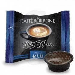 Capsula Caffè Borbone Don Carlo miscela Blu 100 PZ Capsule compatibili A Modo Mio