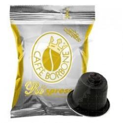 Capsula Caffè Borbone Respresso miscela Oro 100 PZ Capsule compatibili Nespresso