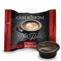 Capsula Caffè Borbone Don Carlo miscela Rossa 100 PZ Capsule compatibili A Modo Mio