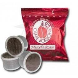 Capsula Caffè Borbone miscela Rossa 100 PZ Capsule compatibili Espresso Point