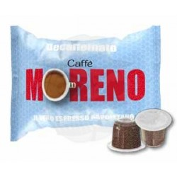 Capsula Caffè Moreno Decaffeinato Espresso 100 PZ Capsule compatibili Nespresso