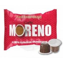 Capsula Caffè Moreno Top Espresso 100 PZ Capsule compatibili Nespresso