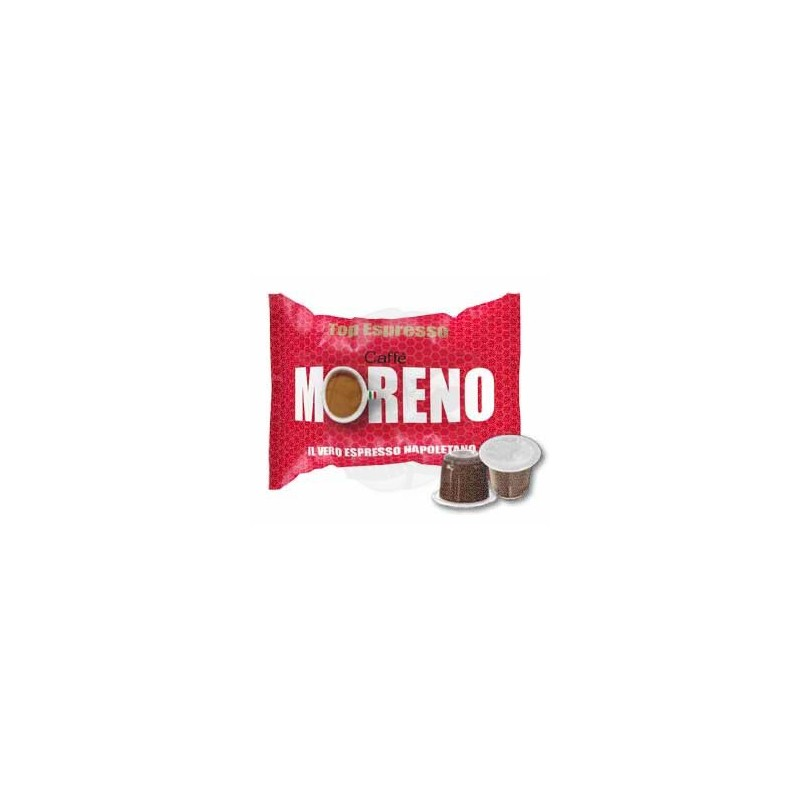 Capsula Caffè Moreno Top Espresso 100 PZ Capsule compatibili macchina Nespresso