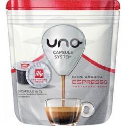 Capsule Caffè Illy - Kimbo Uno System Tostatura Media - Rossa 16 PZ Capsule Uno System