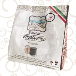 Capsula Gattopardo NSP Cortado Capsule compatibili macchina Nespresso