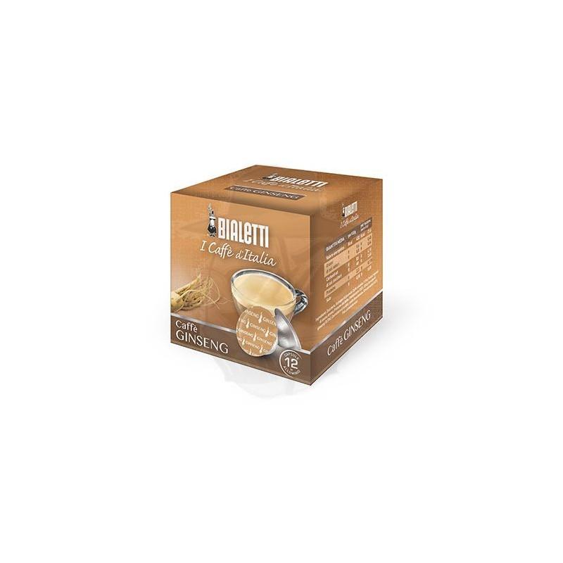 Caps Bialetti Caffè d'Italia Ginseng 12 PZ capsule caffè d'italia
