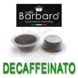 Capsula Caffè Barbaro Decaffeinato 100 PZ Capsule Compatibili Bialetti