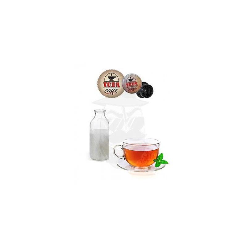 Capsula solubile To.da Dolce Gattopardo Latte e The 10 PZ Capsule compatibili Dolce Gusto