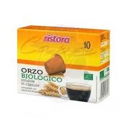 Capsule Ristora Orzo Biologico 10 PZ Capsule compatibili Macchina Nespresso
