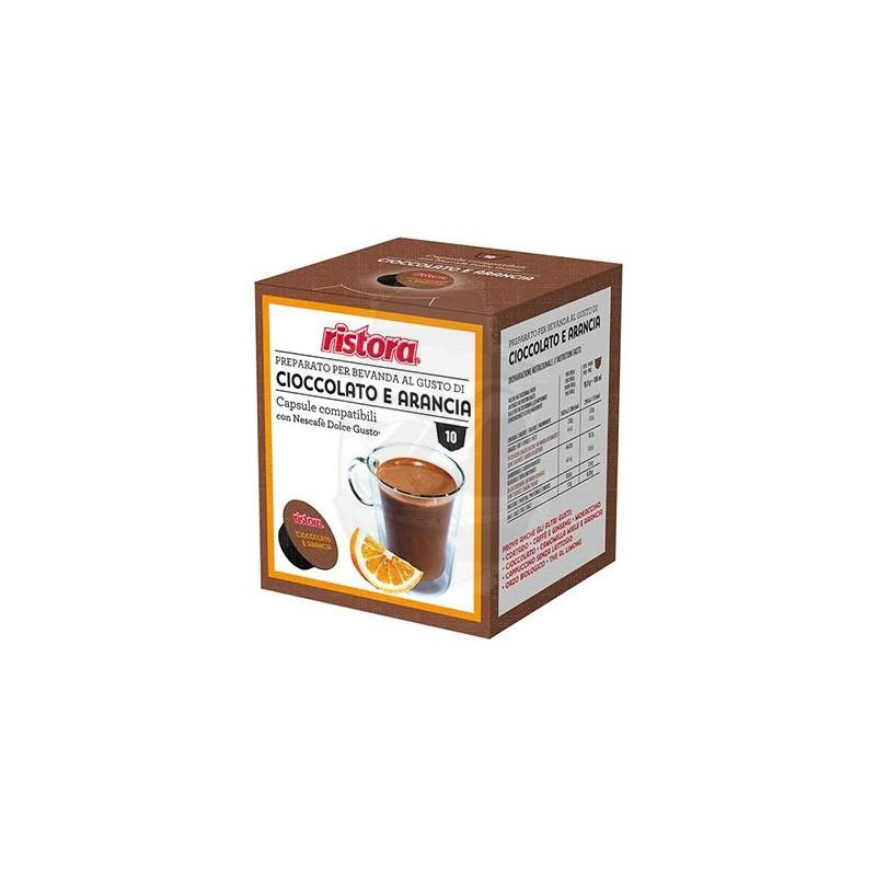 DGU Cioccolato e Arancia Capsule compatibili Dolce Gusto