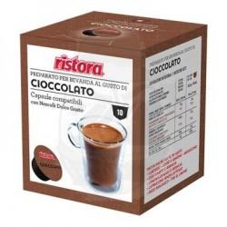 Capsule Compatibili Ristora Cioccolato 10 PZ Capsule compatibili Dolce Gusto