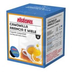 DGU Camomilla Arancia e Miele Capsule compatibili Dolce Gusto