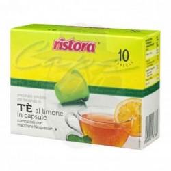 Capsule Ristora Te Limone 10 PZ Capsule compatibili Macchina Nespresso
