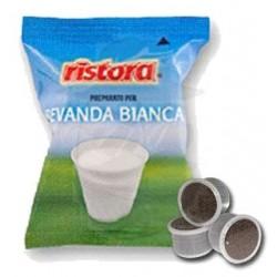 Capsula Ristora Bevanda Bianca Solubile 25 PZ Capsule compatibili Espresso Point