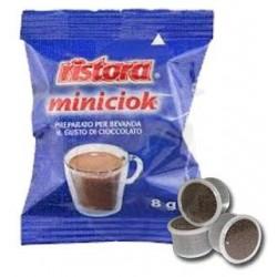 Capsula Ristora Miniciok Cioccolato Solubile 25 PZ Capsule compatibili Espresso Point