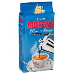 Macinato Moreno Gran Miscela 250 gr Caffè in grani e macinato