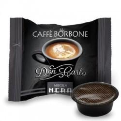 Capsula Caffè Borbone Don Carlo Miscela Nera 100 PZ Capsule compatibili A Modo Mio