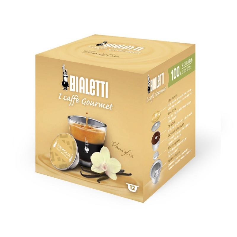 Caps Bialetti Caffè d'Italia Vaniglia 12pz capsule caffè d'italia