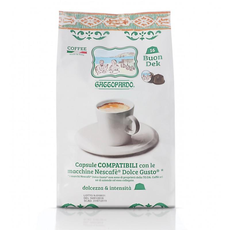 Dolce Gusto Gattopardo Dek capsule compatibili dolce gusto