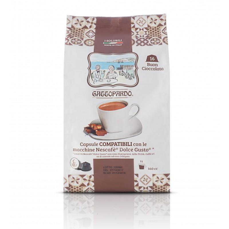 Dolce Gusto Cioccolata capsule compatibili dolce gusto