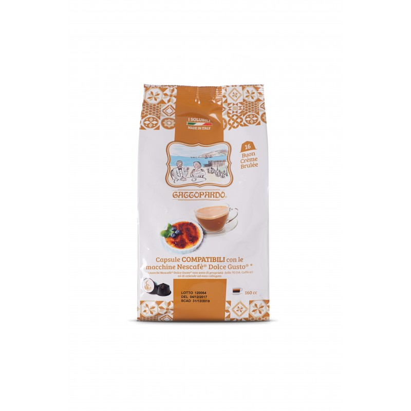 Dolce Gusto Creme Brulee capsule compatibili dolce gusto