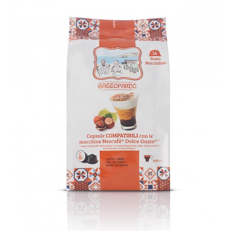 Nocciolino Gattopardo - compatibile Nescafé Dolce Gusto Capsule compatibili Dolce Gusto